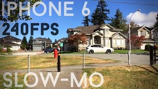 iPhone 6 Slow Mo 240fps Ultimate Test (vs iPhone 5s 120fps)
