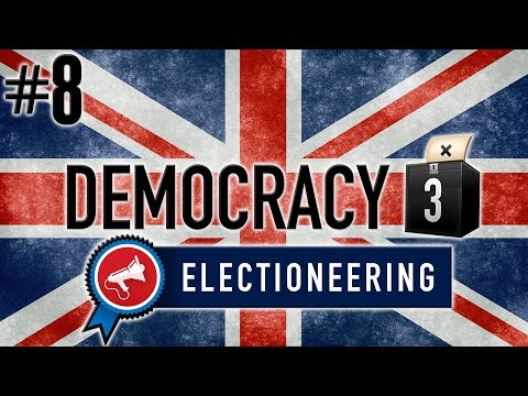 Democracy 3: Electioneering Gameplay PC - Brexit Britain - PART #8 - Huge Disaster!