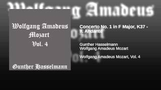 Concerto No. 1 in F Major, K37 - II. Andante