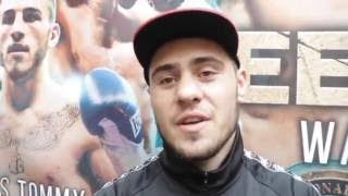 DAVE ALLEN - 'I EXPECT TO GET HIT HARD & OFTEN, DILLIAN DONT REALISE IM MADE OF MARBLE'