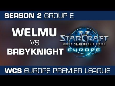 [Ro32 Grp E] BabyKnight vs Welmu - WCS EU S2