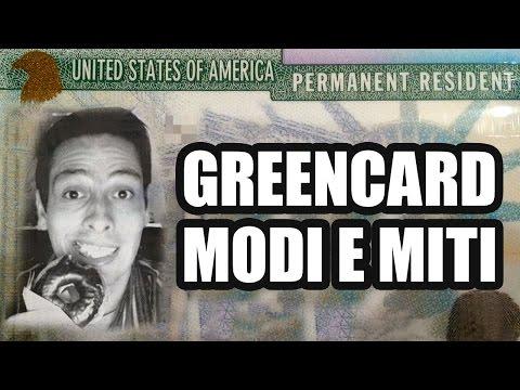 USA: Green Card / Carta Verde - Modi e miti per ottenerla