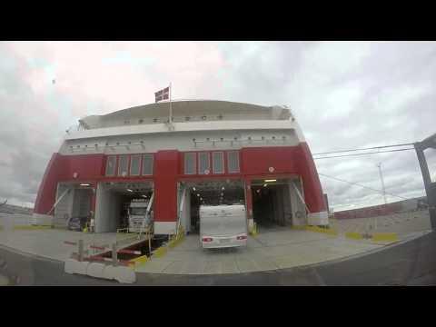 Norwegen 2014 - Tag 3 - Fähre Hirthals Langesund