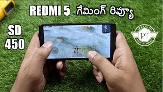 Xiaomi Redmi 5 Gaming Review & Heating Test ll in telugu ll