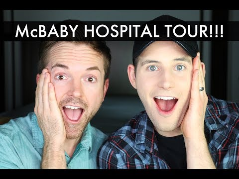 Hospital Tour! - Gay Dads & Twin IVF Surrogacy Journey /// McHusbands
