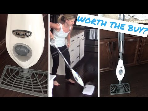 SHARK STEAM MOP REVIEW | Mop My Floors With Me!