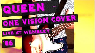 The Queen - One Vision solo (cover)