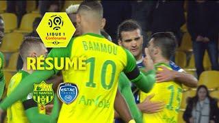 FC Nantes - ESTAC Troyes (1-0)  - Résumé - (FCN - ESTAC) / 2017-18