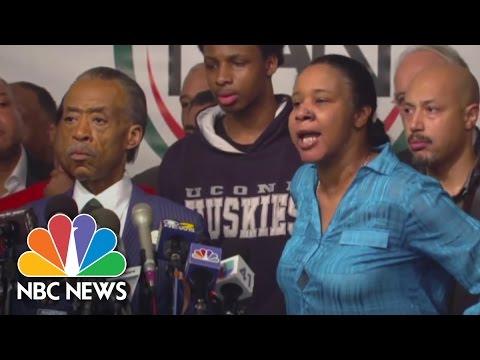 Eric Garner's Widow Responds To Cop: 'Hell No' | NBC News
