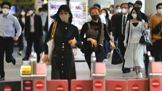 COVID-19 infection rate in Tokyo drops dramatically