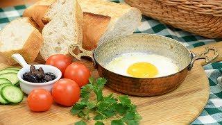 Sahanda Yumurta Nasıl Yapılır SemenOner yemek tarifleri Yumurta Tarifleri