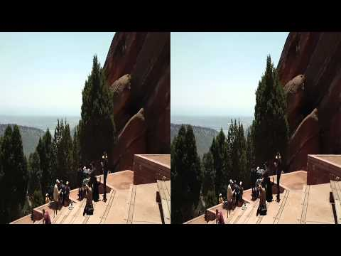 Red Rock Theater Colorado 3D