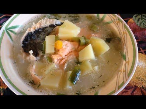 Кулинарный рецепт Рыбный суп из лосося