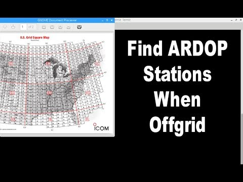 Finding Winlink stations when offgrid