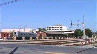 Railfanning Dalton GA  10/5/13