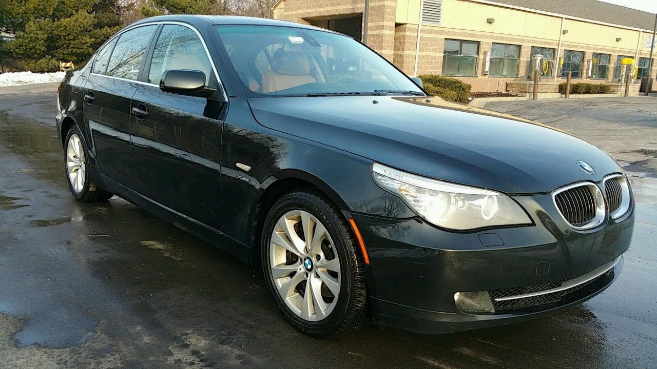 2009 e60 bmw 535i xdrive details and in depth review. Black Bedroom Furniture Sets. Home Design Ideas