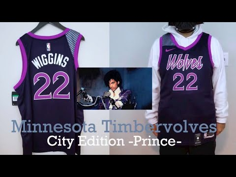 Minnesota Timberwolves X Prince Nba Jersey Youtube