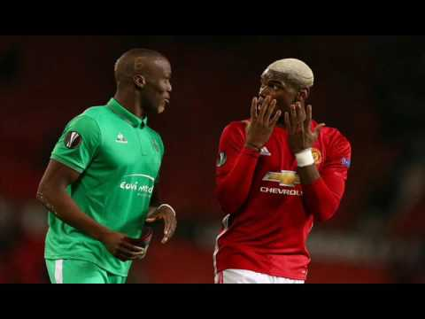 Paul and Florentin Pogba's brotherly love in head to head clash was a sight to behold