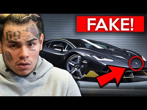 10 Rappers EXPOSED For Fake Flexing... (6ix9ine, Lil Pump, T