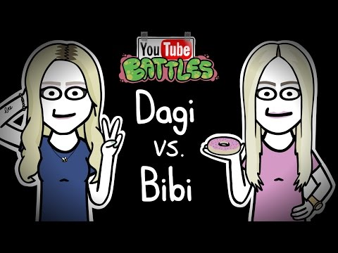 Youtube Battles #05 - Dagi Bee vs. BibisBeautyPalace