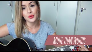 More Than Words | Extreme | Cover Carina Mennitto