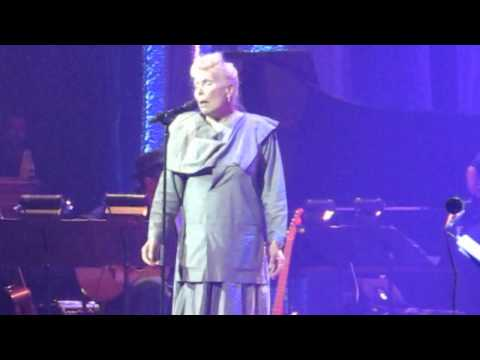 Joni Mitchell sings at the Luminato Festival - 70th Birthday concert June 18 2013 at Massey Hall