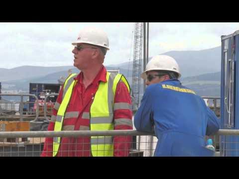 Inch Cape Meteorological Mast Installation (HD)