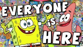 Every Spongebob Character EVER!