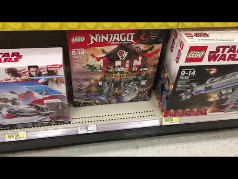 New Lego 2018 Sets at Target!! - YouTube