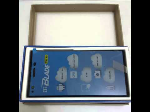 unboxing First look ZTE Blade Vec 4G (1 of 3)