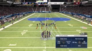 Madden NFL 25: Brandon Spikes Interception For Pick 6