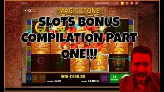 SLOT BONUS COMPILATION: PART (7) ONE! INC.. GAMOMATS AND OF COURSE CHILLI.....