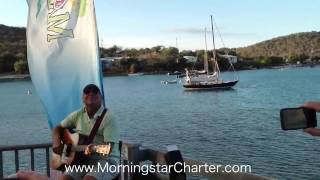"Jimmy Buffett acoustic ""Volcano"" ""Boat Drinks"" Morningstar Charter"