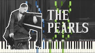 Jelly Roll Morton - The Pearls (Solo Classic Jazz / Ragtime Piano Synthesia)