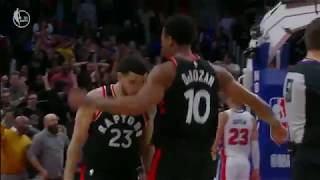 Raptors Prevail in Overtime Following Wild Finish to Regulation