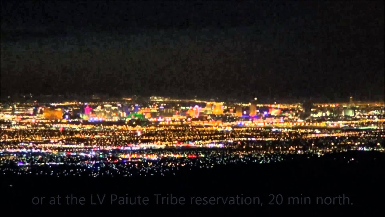 Las Vegas Skyline On Independence Day 2014 Youtube