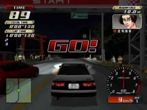 Initial D: Special Stage (PS2 Gameplay)