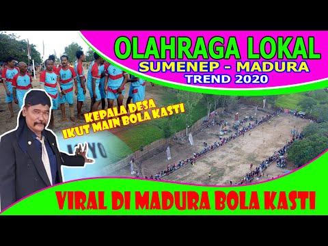VIRAL DI SUMENEP MADURA OLAHRAGA LOKAL BOLA KASTI MANIA