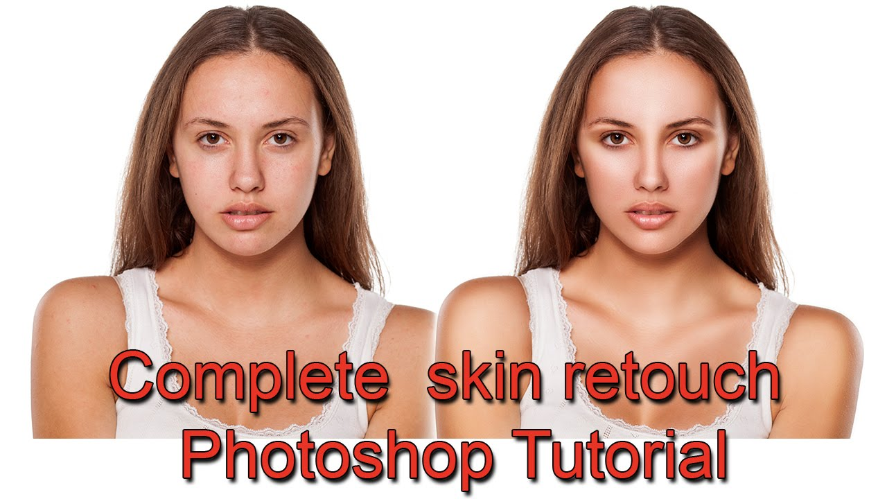 Complete skin retouch tutorial using photoshop cs6 youtube baditri Image collections
