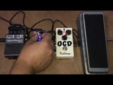 Teste Wild Wah + OCD + Ep Booster + RV-5