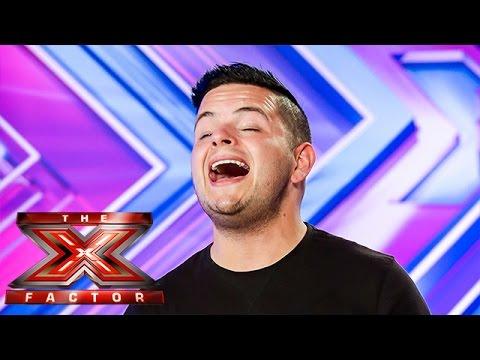 Paul Akister sings Jealous Guy by John Lennon   Room Auditions Week 2   The X Factor UK 2014