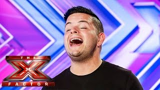 Paul Akister sings Jealous Guy by John Lennon | Room Auditions Week 2 | The X Factor UK 2014