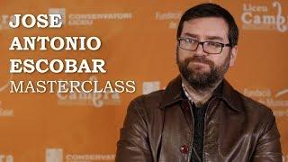 Masterclass amb Jose Antonio Escobar - Cicle Liceu Cambra