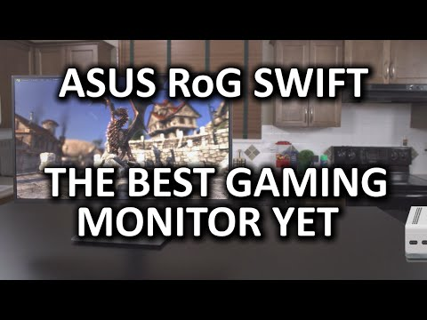 ASUS RoG Swift PG278Q - G-Sync, 144hz, 1440p Monitor