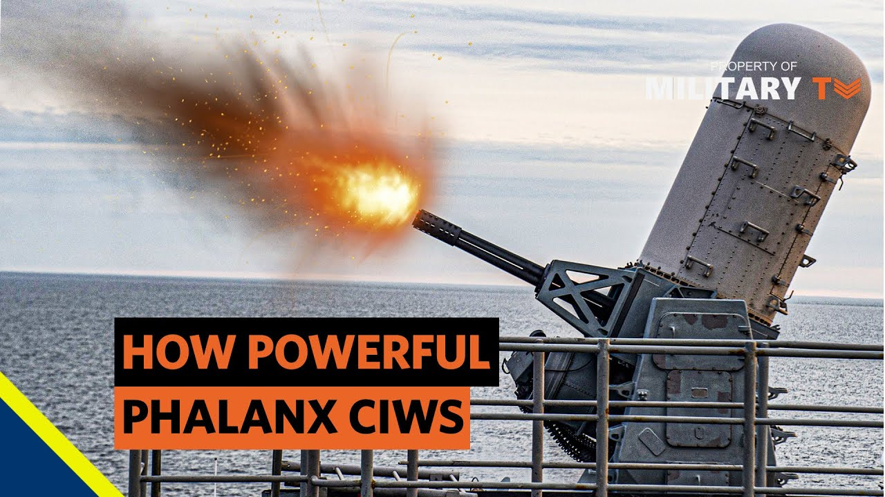 How does the phalanx CIWS work  | How powerful phalanx CIWS