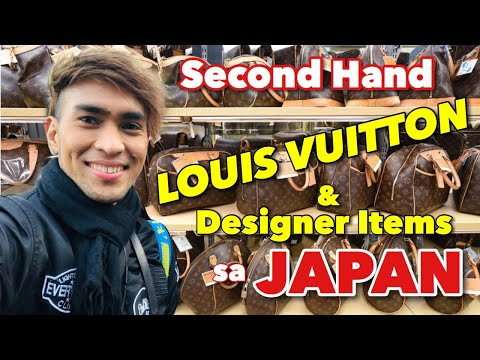 Second Hand LOUIS VUITTON & Designer Items Sa JAPAN | Book-Off Tachikawa Tokyo | Ukay Ukay Sa Japan