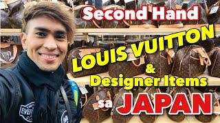 Second Hand LOUIS VUITTON & Designer Items sa JAPAN | Book-Off Tachikawa Tokyo | Ukay Ukay sa Japan