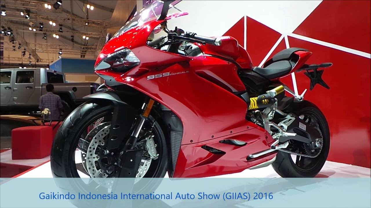 Ducati Pamerkan Motor Sport 2016 Seharga Rp 659 Juta Di Giias 2016
