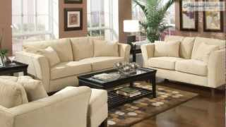 Park Place Cream Living Room Collection From Coaster Furniture