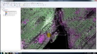 Sentinel-1: Dual channel (HH and HV) responses over Montreal, Canada